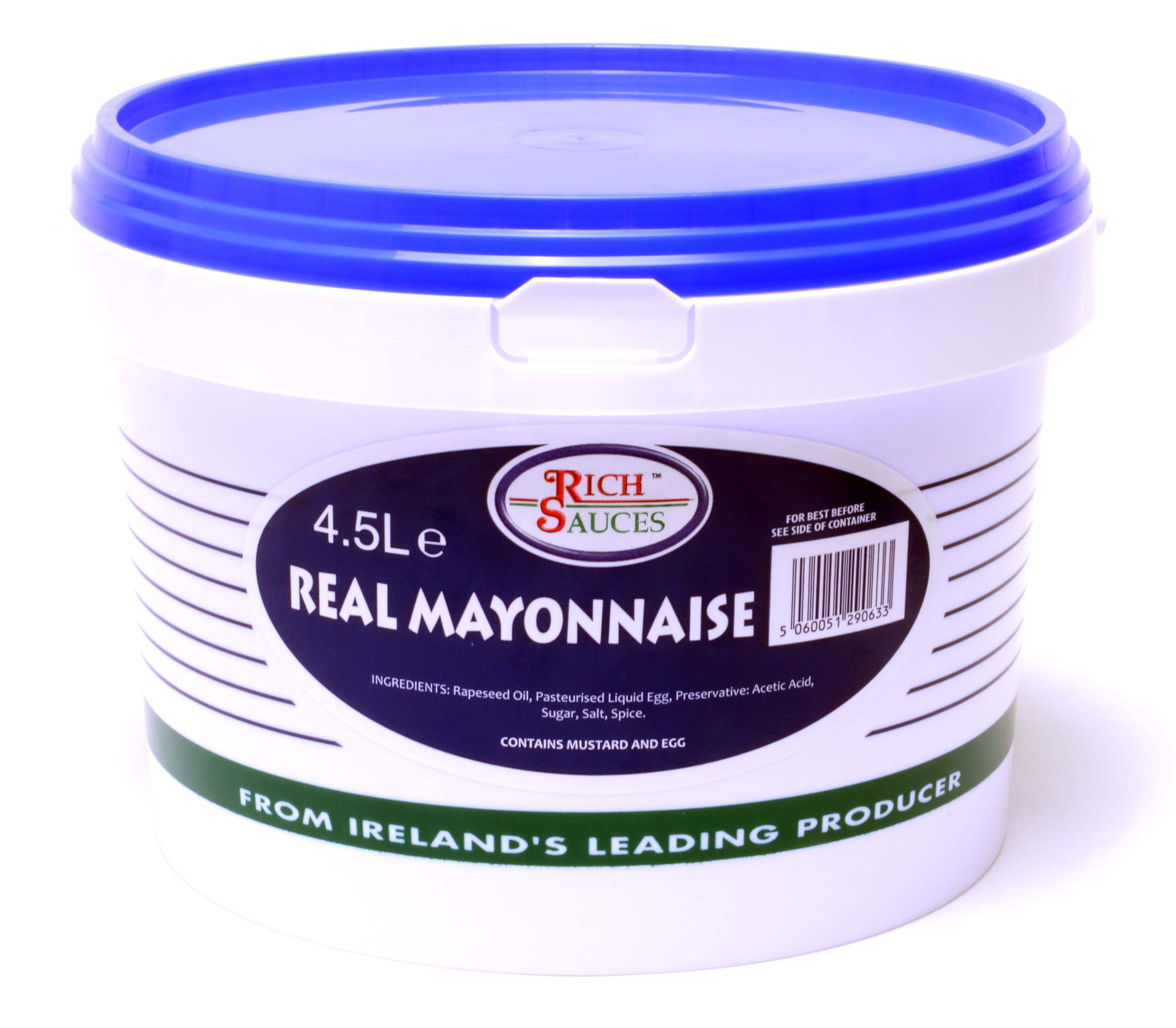 Rich Sauces Real Mayonnaise